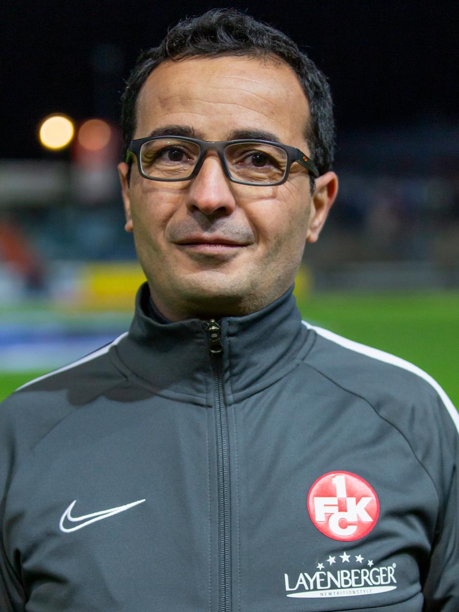 Portraitbild von Dr. Hamzeh Jaradat in der Saison 2019/20