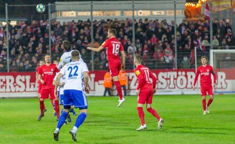 Lucas Röser im Verbandspokalspiel beim FK Pirmasens