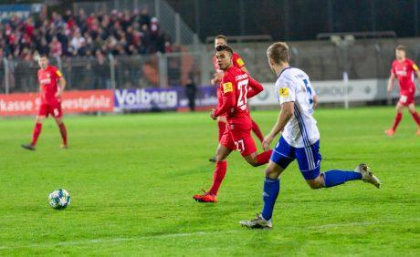 Mohamed Morabet im Verbandspokalspiel beim FK Pirmasens