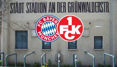 Ankündigungsbild zum Auswärtsspiel des FCK beim FC Bayern München II