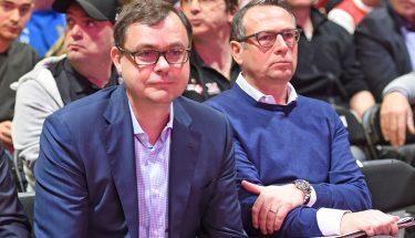 Michael Klatt und Martin Bader bei der JHV 2019