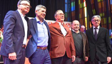 Der neu gewählte Aufsichtsrat des FCK