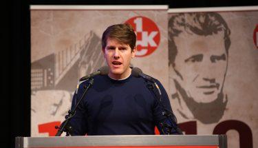Christian Bettinger bei seiner Vorstellung als Aufsichtsratskandidat