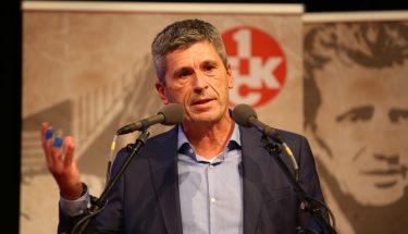 Dr. Markus Merk bei seiner Vorstellung als Aufsichtsratskandidat