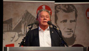 Wolfgang Rotberg bei seiner Vorstellung als Aufsichtsratskandidat