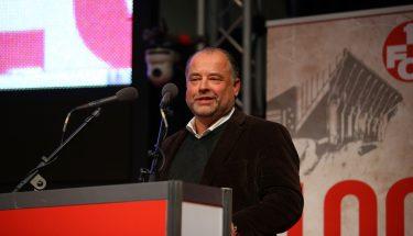 Martin Weimer bei seiner Vorstellung als Aufsichtsratskandidat