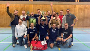 Der Sieger beim FCK-Fanclub-Winterturnier: Die Prinzengarde Rockenhausen