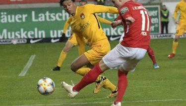 Florian Pick im Heimspiel gegen die SG Sonnenhof Großaspach