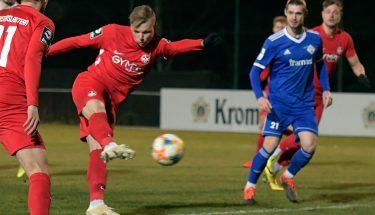 Philipp Hercher im Testspiel gegen den FK Pirmasens