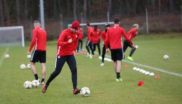 Kevin Klein beim Trainingsauftakt der FCK-U21