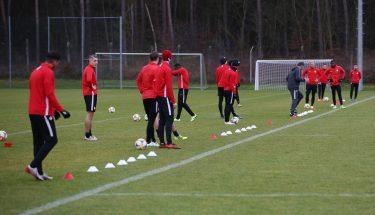 Trainingsauftakt der FCK-U21