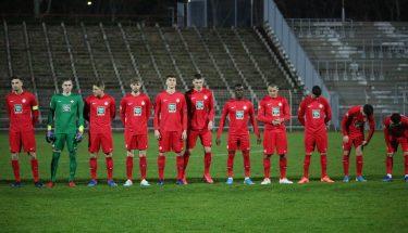 Die U21 vor dem Auswärtsspiel bei Arminia Ludwigshafen