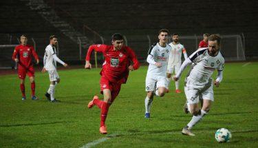 Etienne Portmann im Auswärtsspiel der U21 bei Arminia Ludwigshafen