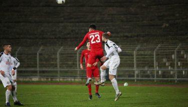 Anil Aydin im Auswärtsspiel der U21 bei Arminia Ludwigshafen