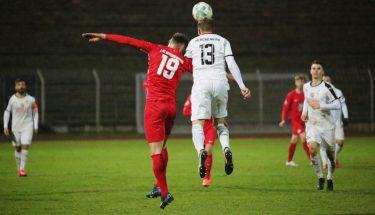 Tim Buchheister im Auswärtsspiel der U21 bei Arminia Ludwigshafen