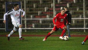 Antonio Jonjic im Auswärtsspiel der U21 bei Arminia Ludwigshafen