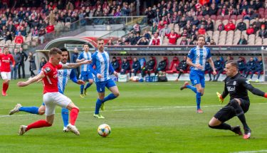 Florian Pick im Heimspiel gegen Meppen
