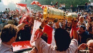 Impressionen vom DFB-Pokalsieg 1990