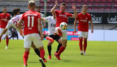 Christian Kühlwetter im Heimspiel gegen Viktoria Köln