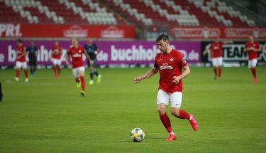 Christian Kühlwetter im Geisterspiel gegen den TSV 1860 München