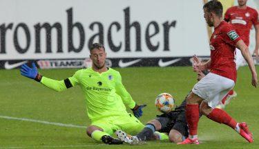Christian Kühlwetter scheitert an 1860-Keeper Marco Hiller