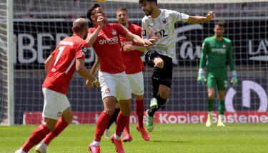 Anas Bakhat im Heimspiel gegen Viktoria Köln