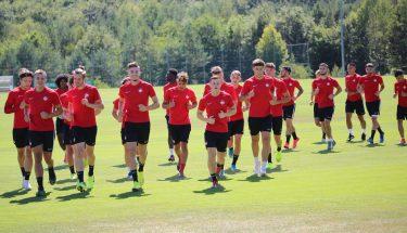 Trainingsauftakt der U21