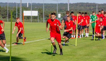 Trainingsauftakt bei der U19