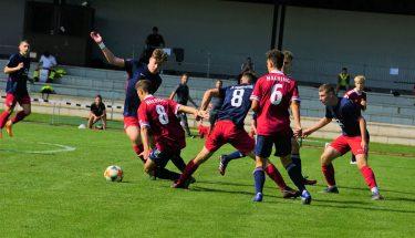 Impressionen vom U17-Spiel in Unterhaching