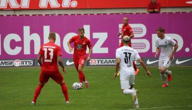 Hendrick Zuck im Testspiel gegen den SV Sandhausen