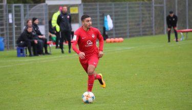 Kenan Dogan im Heimspiel der U19 gegen den FC Ingolstadt
