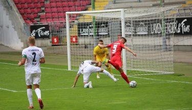 Marvin Pourié im Testspiel gegen den SV Sandhausen