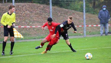 Shakil Diallo im Heimspiel der U19 gegen den FC Ingolstadt