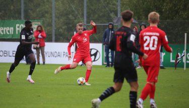 Lukas Preuß im Heimspiel der U19 gegen den FC Ingolstadt
