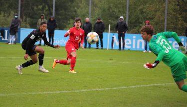 Shawn Blum im Heimspiel der U19 gegen den FC Ingolstadt