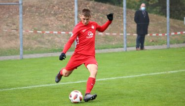 Pharis Petrica im Heimspiel der U17 gegen den FSV Frankfurt