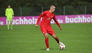 Kenan Skenderovic im Heimspiel der U17 gegen den FSV Frankfurt