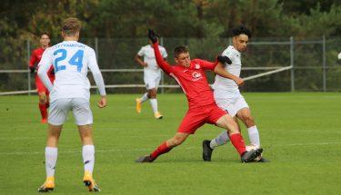 Pharis Pertica im Heimspiel der U17 gegen den FSV Frankfurt