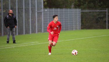 Diogo Monteiro de Oliveira im Heimspiel der U17 gegen den FSV Frankfurt