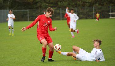 Marlon Ludwig im Heimspiel der U17 gegen den FSV Frankfurt
