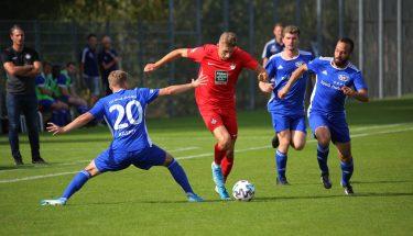 Jannis Held beim 4:1-Heimsieg der U21 gegen den TSV Emmelshausen