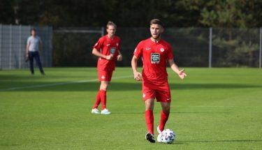 Andi Brahaj beim 4:1-Heimsieg der U21 gegen den TSV Emmelshausen