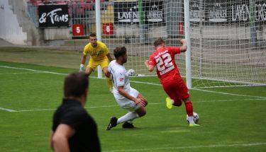 Marius Kleinsorge im Testspiel gegen den SV Sandhausen