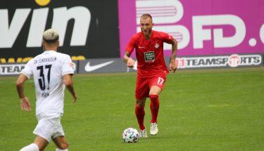 Tim Rieder im Testspiel gegen den SV Sandhausen