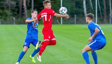 Maxi Fesser im Heimspiel der U21 gegen den SV Gonsenheim