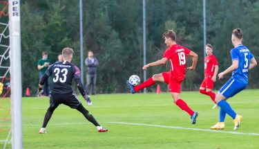 Tim Buchheister im Heimspiel der U21 gegen den SV Gonsenheim