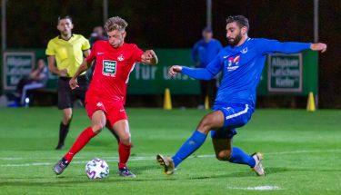 Constantin Fath im Heimspiel der U21 gegen den SV Gonsenheim