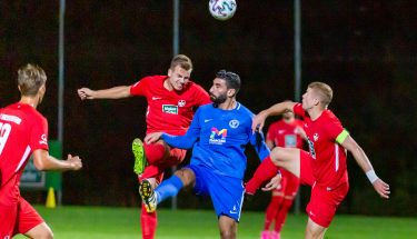 Leon Hotopp und André Hainault im Heimspiel der U21 gegen den SV Gonsenheim