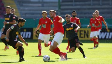 Lucas Röser im Pokalspiel gegen Jahn Regensburg