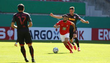 Hikmet Ciftci im Pokalspiel gegen Jahn Regensburg
